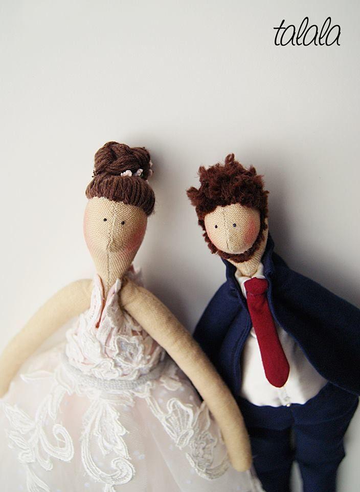 Para Młoda  lalki na ślub