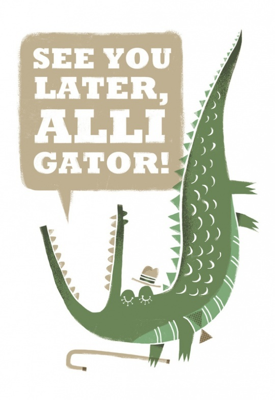 See You Later, Alligator! by Caixa Amarela