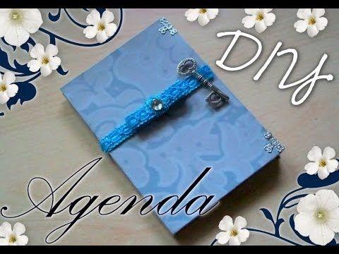 Tutorial Scrapbooking: Come decorare un'Agenda ✂ DIY Vintage Scrap Diary-Notebook ✂ - YouTube
