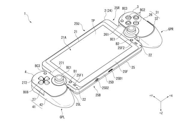 Sony Files Patent for What Looks Like a Switch-esque