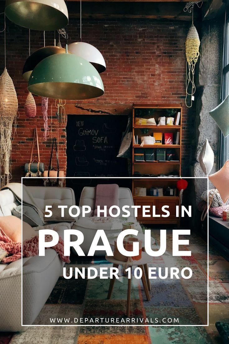 5 Top Hostels in Prague Under 10€