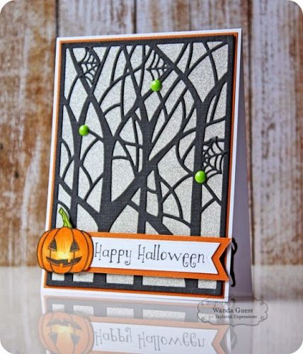 Blog Design Team: Spooky Trees or Winter Trees?