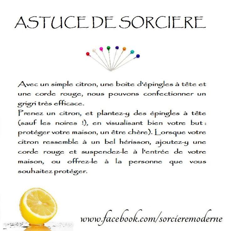 Astuce de Sorcière : Citron pour la Protection -