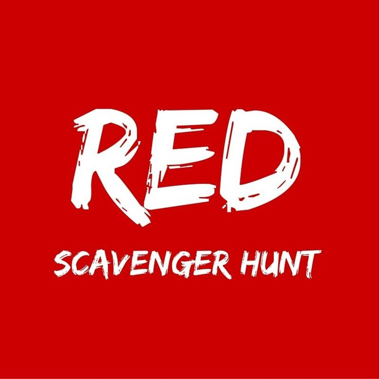 So much awesomeness with our Red Scavenger Hunt! #stumin #youthministry #red #scavengerhunt