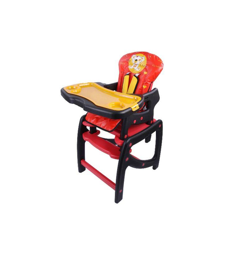 Scaun de Masa Berber Tiesto destinat copiilor incepand cu 6 luni si pana la 3 ani. Este un scaun de luat masa 2 in 1 cu posibilitate de transformare in masuta pentru joaca. Tavita este detasabila si are posibilitatea de ajustare mai aproape sau mai departe de copil.