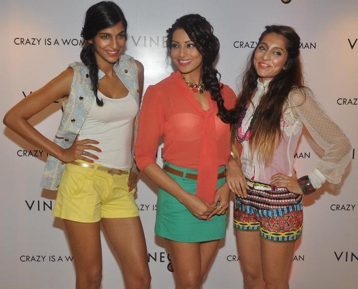 Anushka Manchanda, Bipasha Basu, Anusha Dandekar at the launch of Vinegar