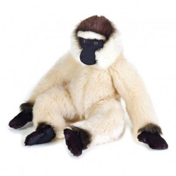 Affe Gibbon 40 Cm - Spielzeug ♡ Wie kuschelig !  Ein perfektes Spielzeug für Mädchen und Jungen. Geschenkidee für Kindergeburtstag und Weihnachten !  ♡  This fluffy stuffed / cuddly toy is a perfect birthday or Christmas gift for your small ones!  ♡ Mami and Me