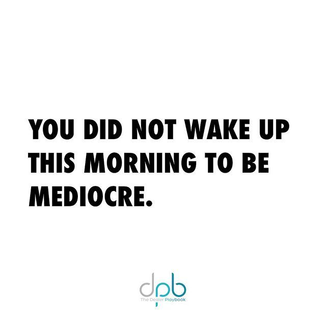Reposting @dealer_playbook: Double tap if you agree!  I believe that we are inherently great. We have each have the potential to achieve our goals, dreams, and ambitions. The choices you make each day will either amplify your greatness or diminish it. The choice is yours.  Today, choose to DOMINATE!