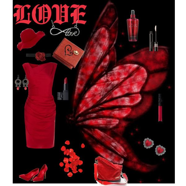 """LOVE!"" by annawirejewelry on Polyvore"