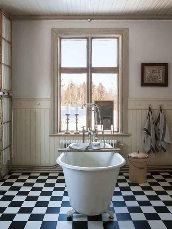 Helemaal retro met een jaren 30-badkamer