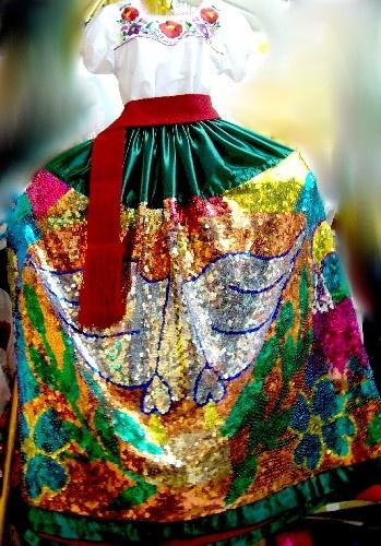 china poblana costume | China Poblana Dress