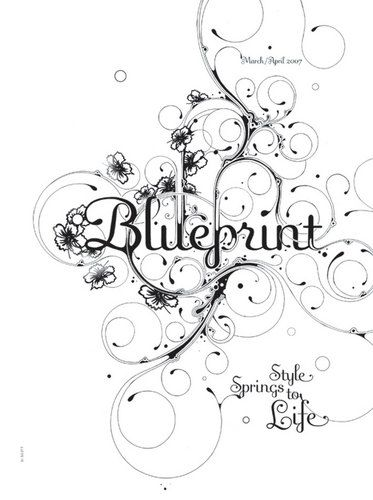 136 best blueprint magazine images on pinterest magazine layouts style springs to life malvernweather Images