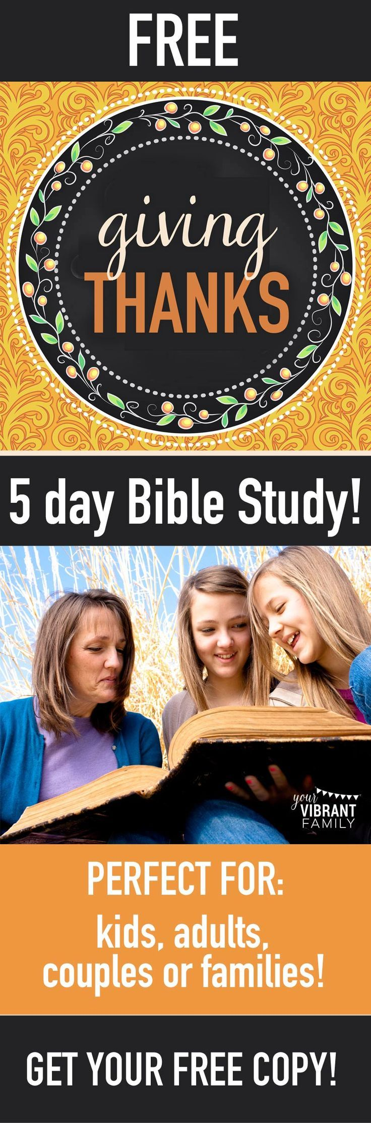 Thanksgiving: Bible Study and History of the Holiday
