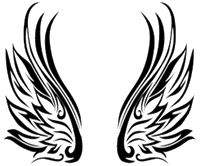 Beautiful Tribal wing patterns   Tribal Wings