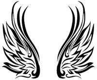 Beautiful Tribal wing patterns | Tribal Wings