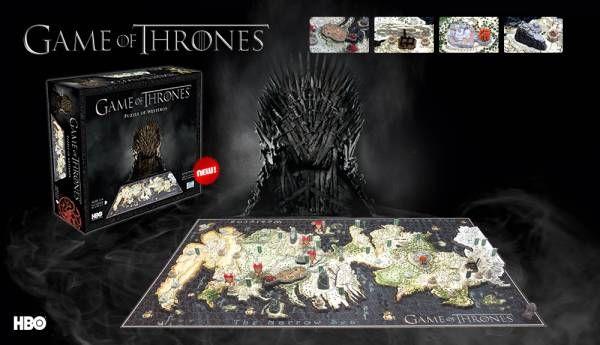 Mientras esperamos el lanzamiento de la nueva temporada de Juego de Tronos, montamos el puzzle 4D del mapa de los 7 reinos. ¿Qué os parece? Via: http://www.puzzlemania.net