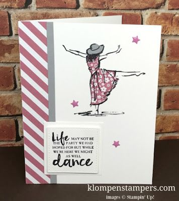 Klompen Stampers (Stampin' Up! Demonstrator Jackie Bolhuis): Make Gorgeous Dresses With This Technique