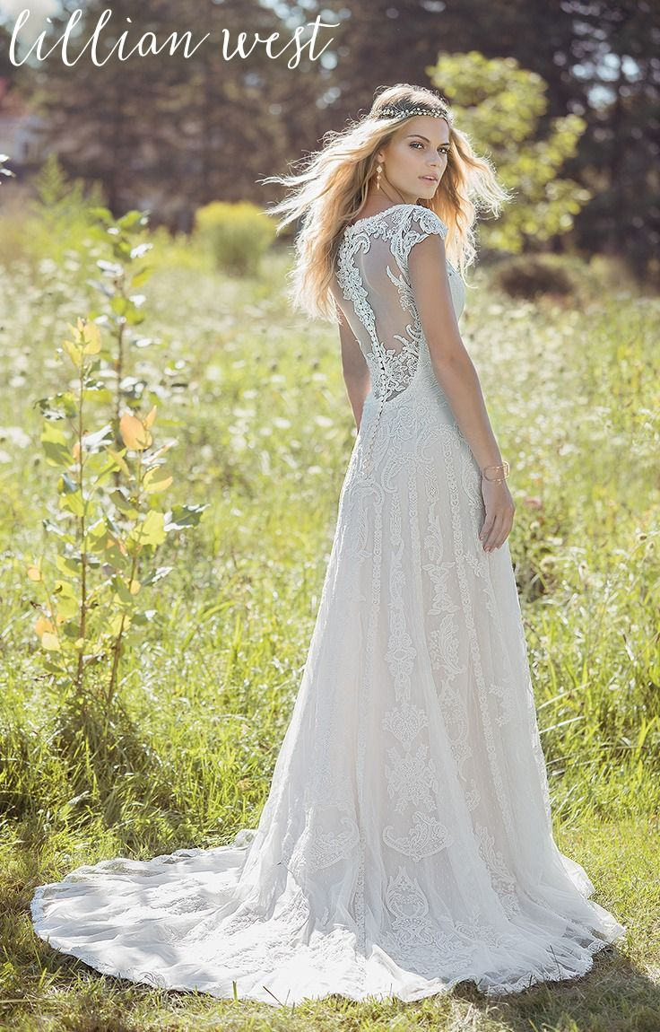 54 best Lillian West Wedding Dresses images on Pinterest | Wedding ...