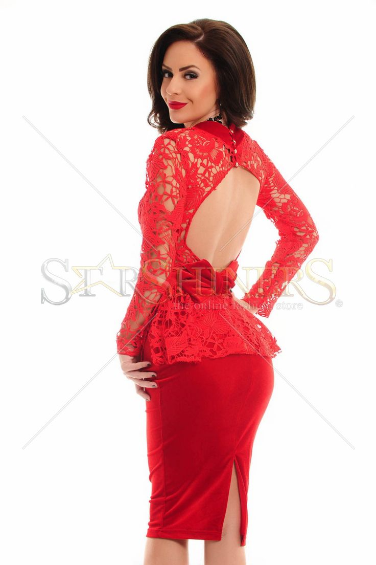 Artista Imperial Lady Red Dress