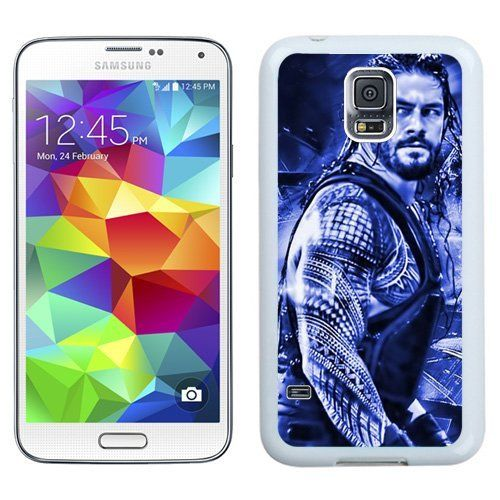 Buy Wwe Superstars Collection Wwe 2k15 Roman Reigns 05 White Durable Hard Plastic Samsung Galaxy S5 I9600 G900a G900v G900p G900t G900w Protective Cover Case NEW for 2.53 USD | Reusell