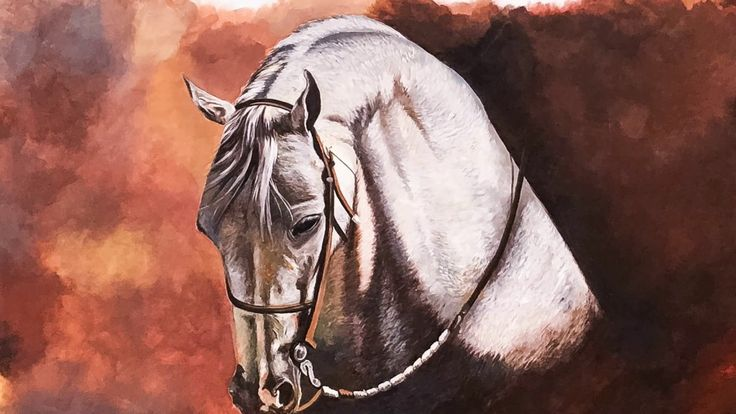 Painting A Horse High Speed