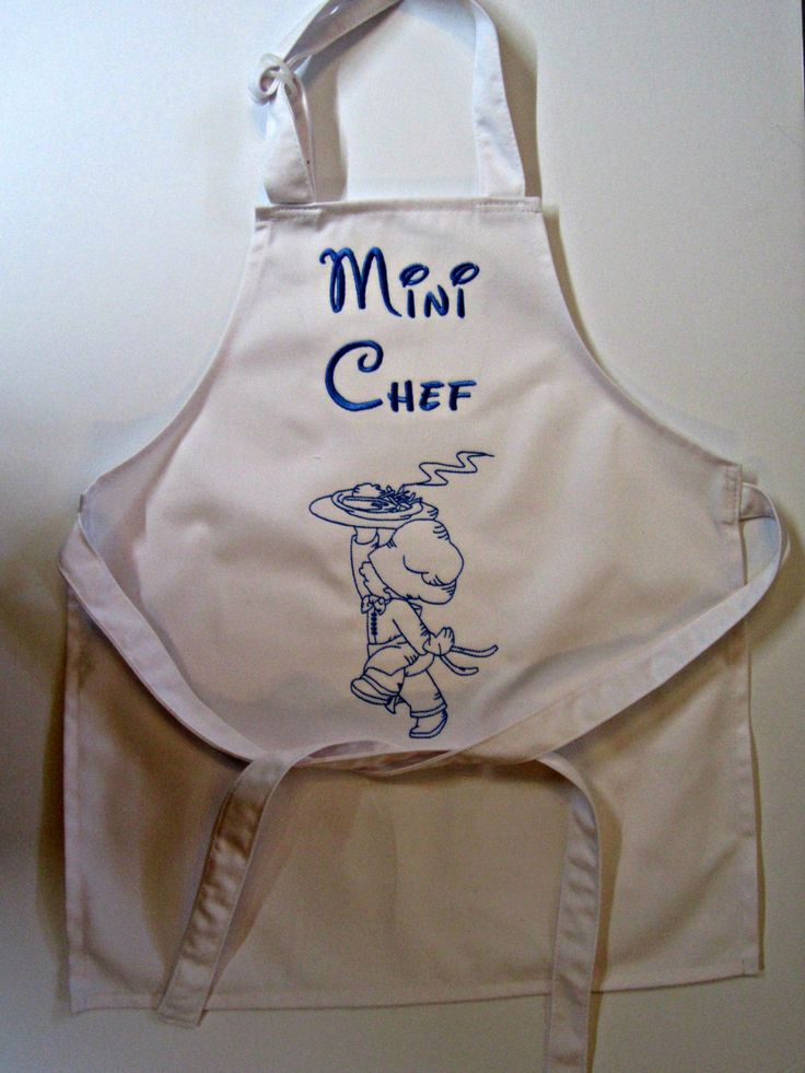 Apron for children little chef apron boy apron for Patron tablier vintage