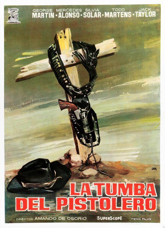 La tumba del pistolero (1964) de Amando de Ossorio - tt0058693