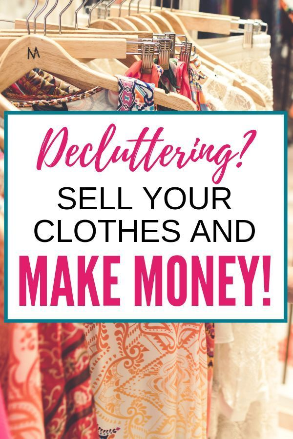Best Places to Sell Your Clothes Online – Declutter and Organize