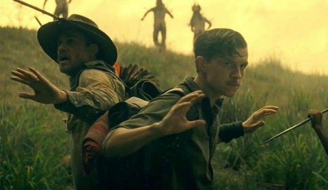 Lost-City-of-Z-Charlie-Hunnam (L)-and-Tom-Holland