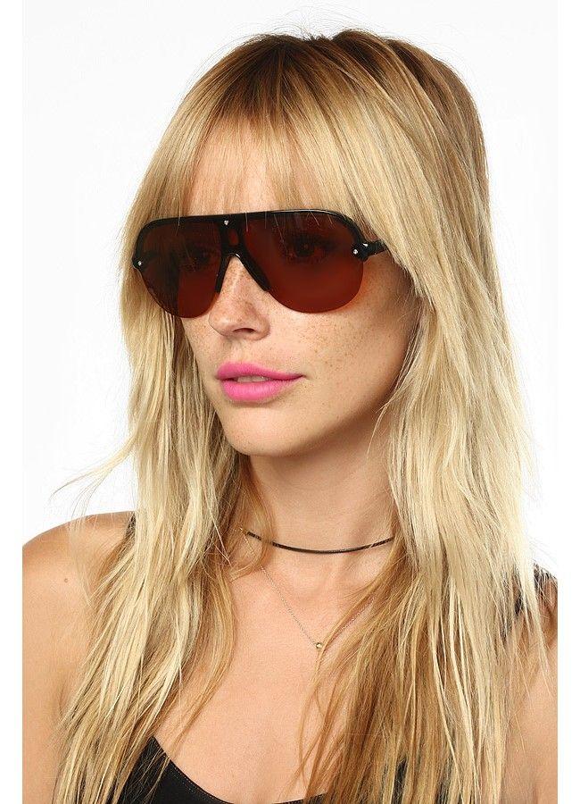 Cheap Aviator Sunglasses   Freddie Rimless Blue Blocker Aviator Sunglasses     BleuDame.com