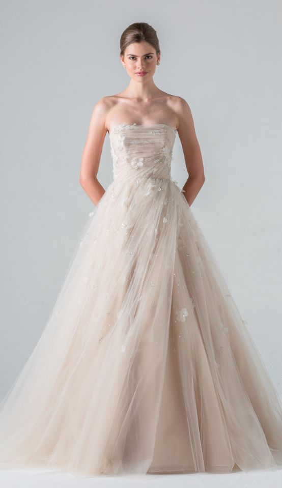 Featured Dress: Anne Barge; Wedding dress idea.