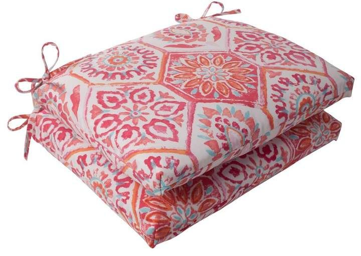 Bungalow Rose Burkburnett Square Indoor Outdoor Seat Cushion Outdoor Seat Cushions Outdoor Lounge Chair Cushions Lounge Cushions