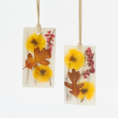 Pressed Flower Sachets, Black Vetiver & Oak in Gifts Our Favorites Stocking Fillers at Terrain