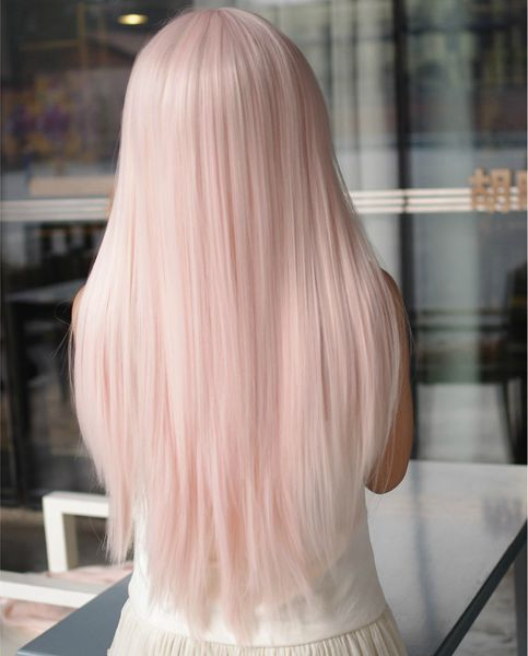 Pastel pink hair - the best 50 inspirational images