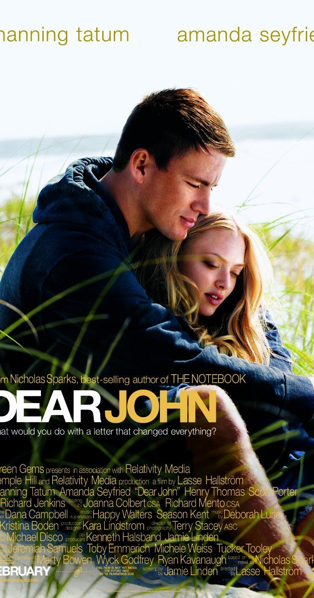 Directed by Lasse Hallström.  With Channing Tatum, Amanda Seyfried, Richard Jenkins, Henry Thomas. A romantic drama about a soldier who falls for a conservative college student while he's home on leave.