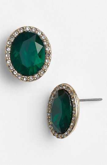 Anne Klein 'Bruma' Stud Earrings available at #Nordstrom    Especially the red ones!