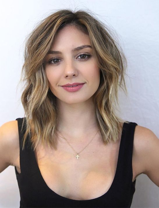 21 Cute Shoulder Length Layered Haircuts For 2018 2019 Hair