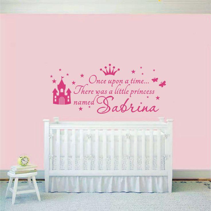 25 beste idee n over prinses babykamers op pinterest babykamer kinderdagverblijven en - Schilderij voor meisje slaapkamer ...