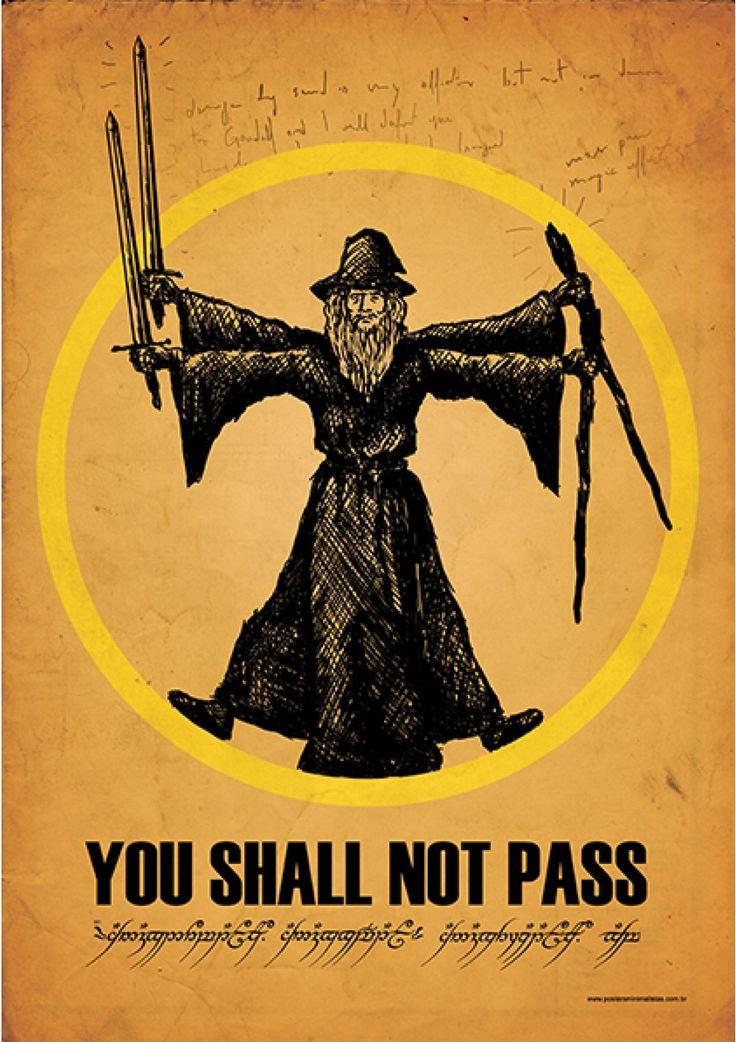 You Shall Not Pass Zerbino Idee Di Immagini Di Casamia