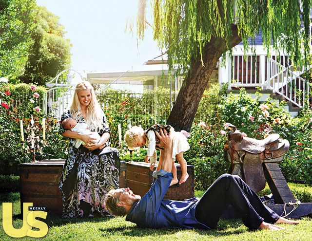 Jessica Simpson and Eric Johnson's house is full of laughter, thanks largely to Maxwell and Ace!