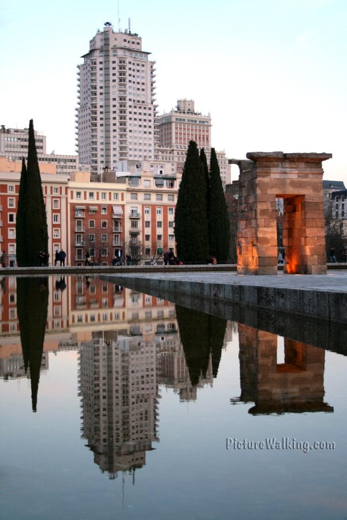 Templo de Debod en #Madrid