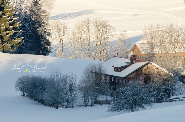 Winter in Oberstaufen by Sven Swalef on 500px