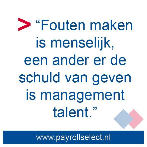 Werk - tegelwijsheden - Payroll Select - http://www.payrollselect.nl