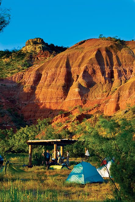 Texas Highways Top 40 Travel Destinations - No. 10 - Palo Duro Canyon. Palo Duro Canyon's been popular for thousands of years, so it's no surprise that readers ranked it as No. 10 on Texas Highways' Top 40 Travel Destinations. #TxTop40 #Travel