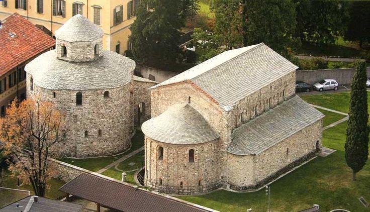 Basilica e Battistero San Vincenzo di Galliano