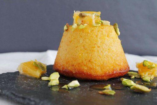 Bizcocho siciliano de naranja