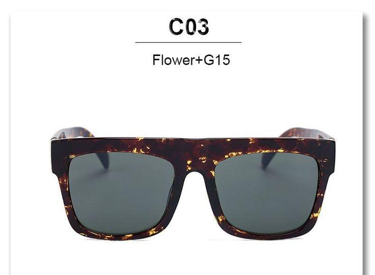 Box Square Celebrity Sunglasses