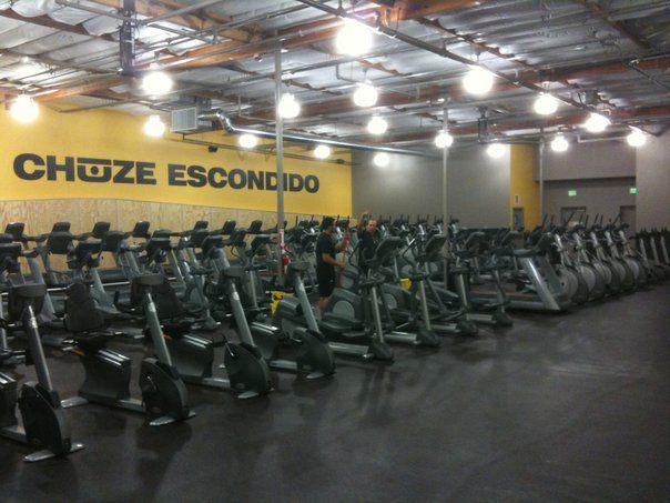 In Escondido, we CHUZE Fitness