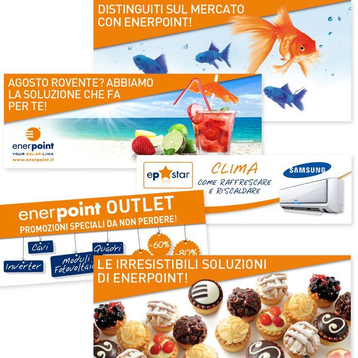 ENERPOINT - Banner per il Web Creatività - Impaginazione - Fotoritocco
