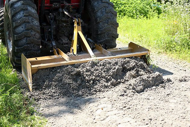 Crushed Concrete Driveway For The Farm A Cheaper